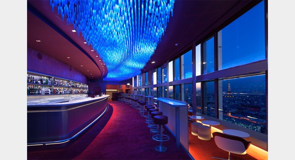 Plc architectures bar la vue for Hotel porte maillot